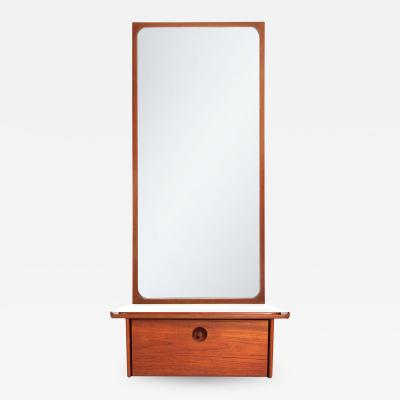 LUDVIG PONTOPIDDAN WALL SHELF AND MIRROR