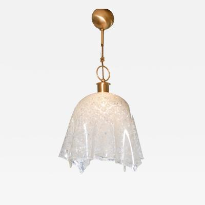 La Murrina 1960s Italian Murano glass handkerchief chandelier by La Murrina