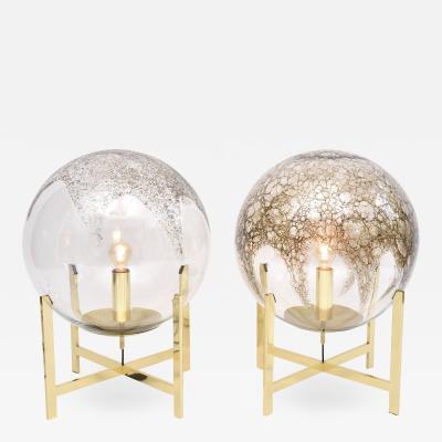 La Murrina A pair of Murano table of floor lamps by La Murrina