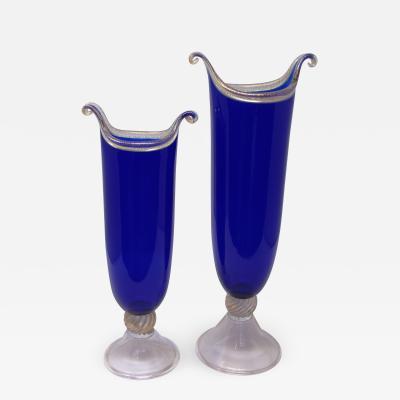 La Murrina Blue Minuetto Vases by La Murrina