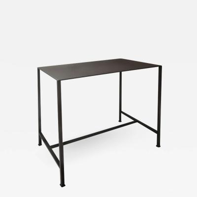 Lance Thompson Evander Table Hand Blackened Steel Table Forged Square Feet Made to Order