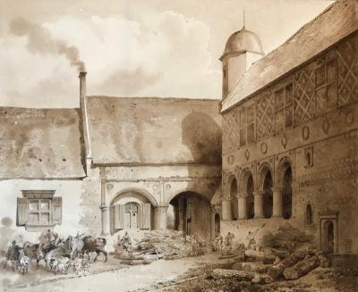 Lancelot Theodore Turpin de Crisse Manoir dAngo Normandie