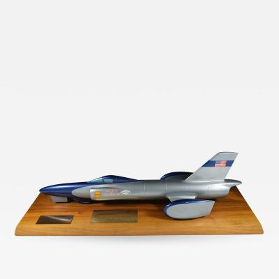 Land Speed Record Car Spirit of America Craig Breedlove Trophy 1963