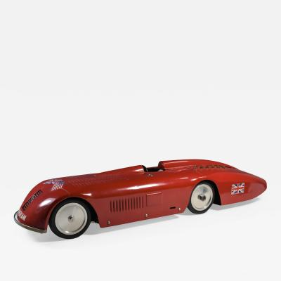 Land Speed Record Sunbeam Streamlined Race Car Daytona Beach