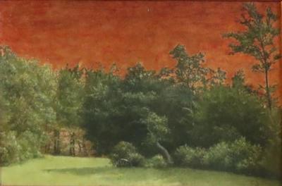 Landscape by Carl Frederick Bartsch