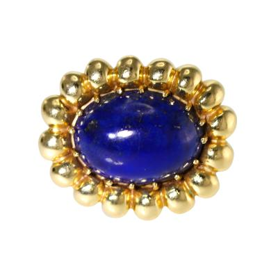 Lapis Lazuli and Gold Ring circa 1970