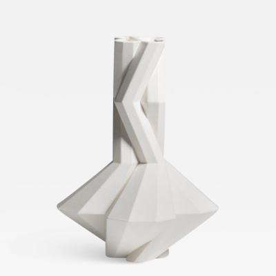 Lara Bohinc Fortress Cupola Vase White Ceramic