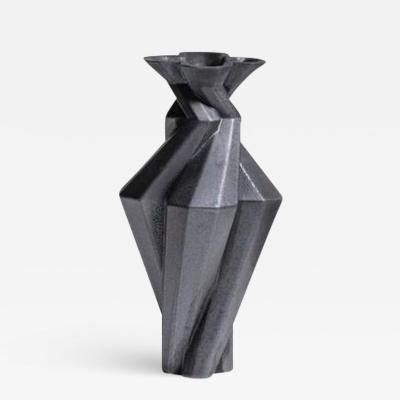 Lara Bohinc Fortress Spire Vase Iron Ceramic