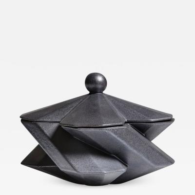 Lara Bohinc Fortress Treasury Box Iron Ceramic