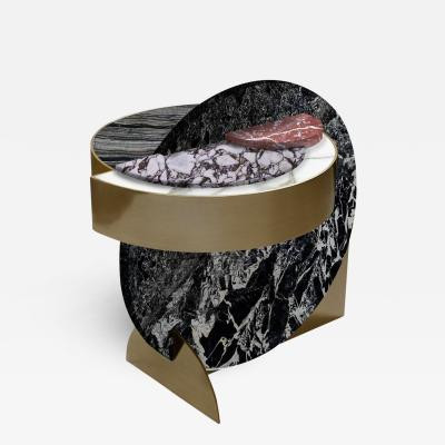 Lara Bohinc Full Moon Side Table Alpine