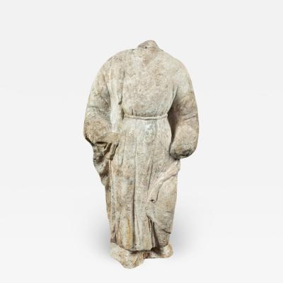 Large 18th Century Marble Figure