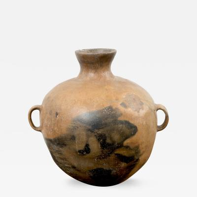Large 19th Century Guatemalan Water Pot with Three Handles