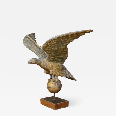 Large American Eagle Weathervane