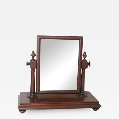 Large Antique Gentleman Vanity Mirror