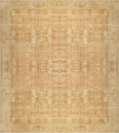 Large Antique Indian Agra Carpet