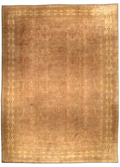 Large Antique Turkish Sivas Carpet