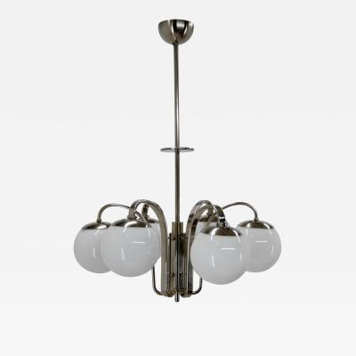 Large Art Deco or Bauhaus Chandelier in Perfect Condition 1930s
