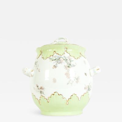 Large Austrian Porcelain Covered Piece