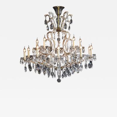 Large Bohemian chandelier