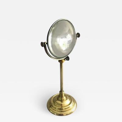 Large Burning Magnifying Lens on Stand