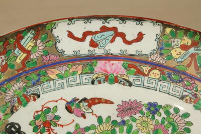 Large Chinese Canton Charger 19th c