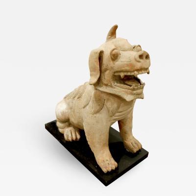 Large Chinese Ceramic Foo Dog 1970s