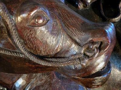Large Chinese Sculpture of a Buffalo