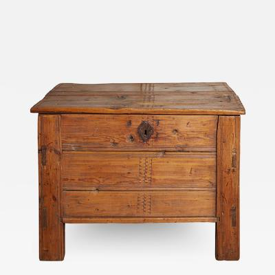 Large Colonial Spanish Trunk