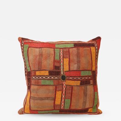 Large Embroidered Lambadi Cushion