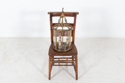 Large English Brass Porch Lantern