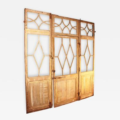 Large French Directoire Period Room Divider Circa 1800