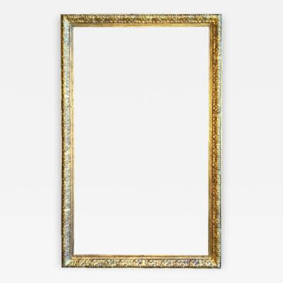 Large Gilt Wood Frame 19th Century