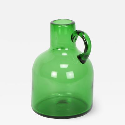 Large Glass Jug 50s