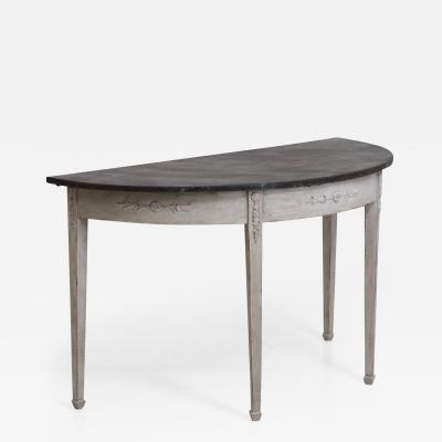 Large Gustavian console table circa 1810