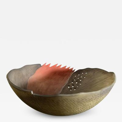 Large Jay Musler Fire Bowl