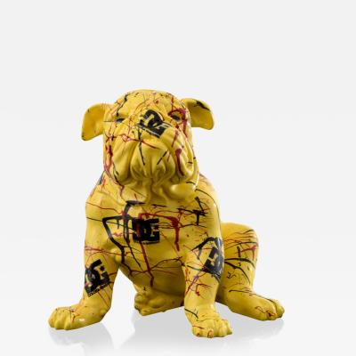 Large Jeff Diamond Dolce Gabbana Couture Bulldog