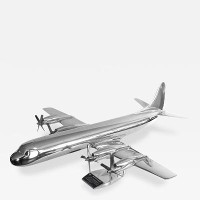 Large Lockheed Original Electra Aluminum Airplane Model