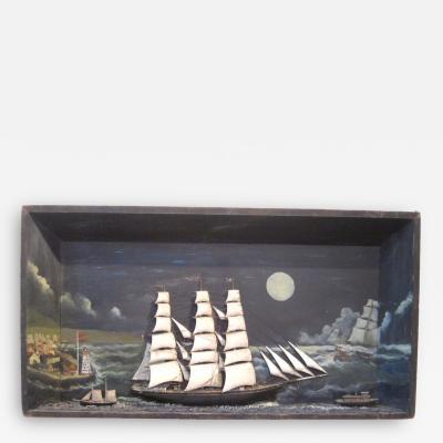 Large Nautical Diorama