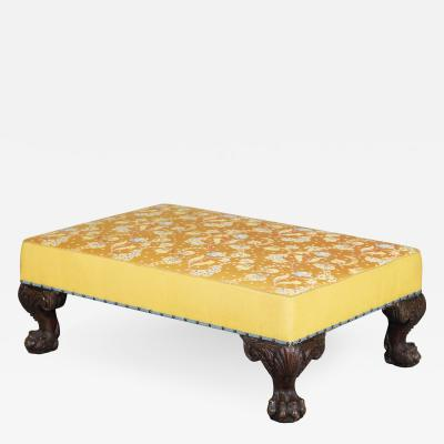 Large Ottoman or Stool in 18th Century Georgian Style