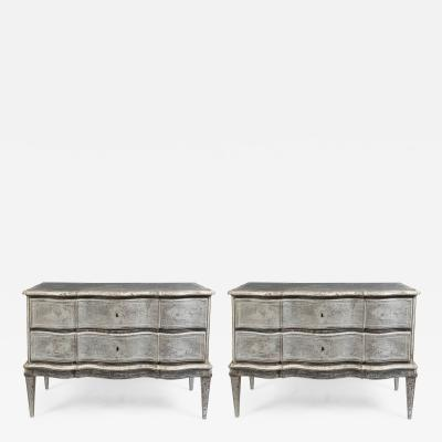 Large Pair Of Scandanavian Chest Of Drawers