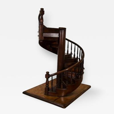 Large Scale Edwardian Architectural Model of a Staircase