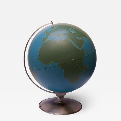 Large Scale Vintage Military Globe Activity Globe by A J Nystrom