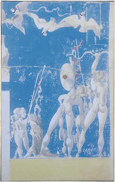 Large Scale William Haines Canvas Murals