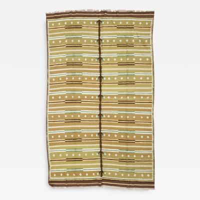 Large Scandinavian Flatweave Rug