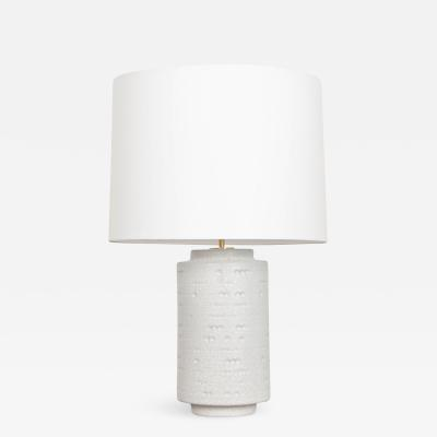 Large Table Lamp with Linen Shade