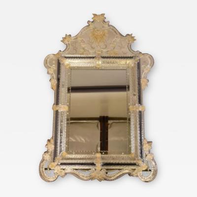 Large Venetian Glass Mirror
