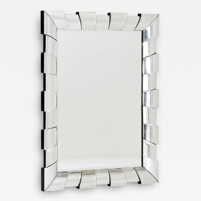 Large Wall Mirror with Architectural Form