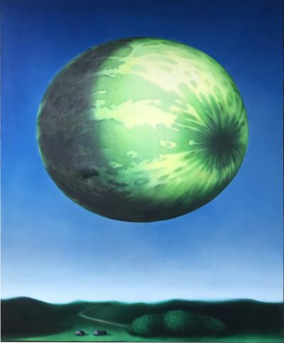 Large Watermelon Painting