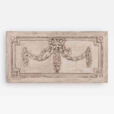 Large White Painted Architectural Panel