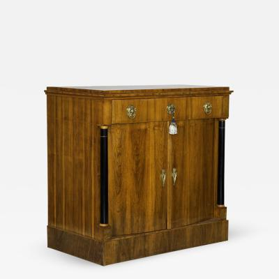 Large and Exceptional Biedermeier Two Door Commode